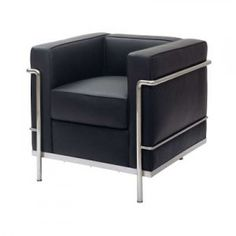 Certainly an honorable mention in all time great chairs, Le Corbusier LC2