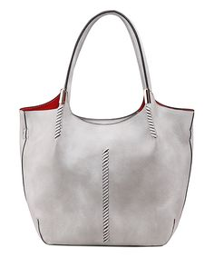 Look what I found on #zulily! MKF Collection Stone Gray Aimee Tote by MKF Collection #zulilyfinds