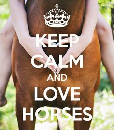 keep calm and ♥ horses!!!!!!