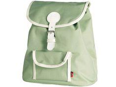 Grüner Kinderrucksack von Blafre. Manchmal sind die ganz schlichten Dinge auch die besten! Daher trägt sich dieser einfache Rucksack auch sehr bequem.