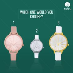 If you can't pick one, just take 'em all!  #aspen #watch #fashion #women #style