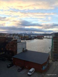 Il sole a mezzanotte a #Tromso - #Norvegia