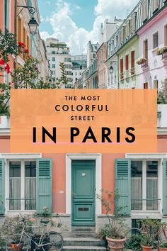 It's no secret that Paris is an architectural haven, but there's a lil' street you'll fall hard for if you love colorful buildings. #Paris #ParisGuide #FranceTravel Travel Destinations, Travel Tips, Cities, Travel Advice, City, Destinations