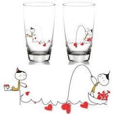 "BoldLoft ""My Heart is Yours to Catch"" Drinking Glass Set-Romantic Valentines Gifts for Couples,Cute Valentines Day Gift Ideas,Good Couple Gifts for Valentines,Romantic Anniversary Gifts , http://www.amazon.com/dp/B00479TKTC/ref=cm_sw_r_pi_dp_r4A7qb1RV8T8N"