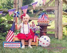 #babyphotography #Americana #July4th | Chris Angel Photography