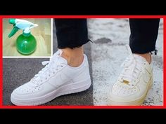 We all know that it is very difficult to keep the white shoes clean. We will show you a simple trick which will clean the dirty white sho How To Clean White Sneakers, All White Shoes, White Nike Shoes, Nike Air Shoes, Clean Shoes, Nike Shoes Outlet, White Nikes, Sneakers Nike, Cleaning White Shoes