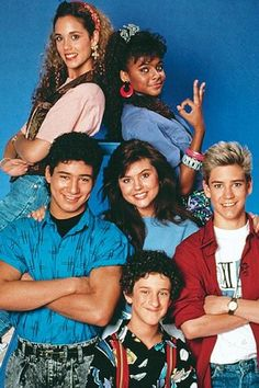 Saved by the Bell I was way in the minority in that my faves were Jessie and Slater.