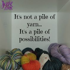 Yarn is a Pile of Possibilities