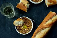 Toasted Garlic Olive Oil Bread Dip