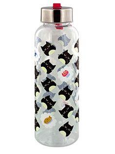 Water Bottle Feline Fine Cat With Metal Lid 6 x Band Merch, Dragon Ball Z, Water Bottle, Ebay, Cats, Amazon, Objects, Drinking Water Bottle, Flower Of Life