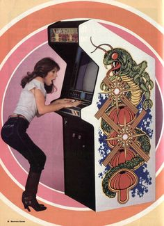 Electronic Games, May 1982 - Women join the arcade revolution! A guide to how woman are now appearing in arcades.