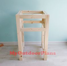 Plans Woodworking How to build a farmhouse night stand – HowToSpecialist – How to Build, Step by Step DIY Plans - This step by step diy project is about how to build a farmhouse nightstand.