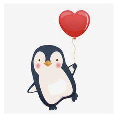 Penguin Art, Penguin Love, Cute Penguins, Pinguin Drawing, Pinguin Tattoo, Pinguin Illustration, Cute Illustration, Baby Drawing, Painting & Drawing