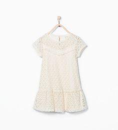 ZARA - ENFANTS - Robe dentelle
