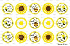 15 BEEutiful 1 Digital Download for 1 Bottle Caps 4x6 by MaddieZee, $1.25