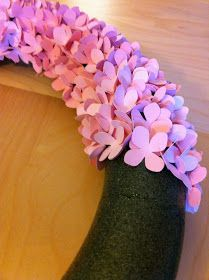 copy-craft: hydrangea wreath