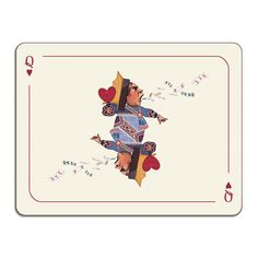 Discover the Avenida Home Louise Kirk - Alice in Wonderland Table Mat - Queen at Amara