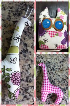 DIY stuffed animals
