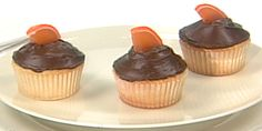 Tangerine Chocolate Cupcakes Recipes | Food Network Canada