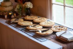 pie at a country wedding Barbecue Wedding, Pie, Cookies, Country, Desserts, Food, Barbeque Wedding, Torte, Crack Crackers