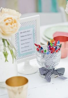 Activities for kids at weddings