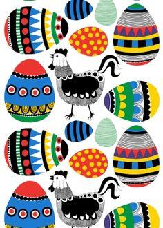 Easter eggs by Marimekko