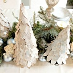 making christmas tree crafts