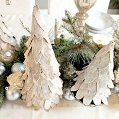making christmas tree crafts