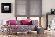 Obývačka v modernom štýle    #obyvacka#potahnasedacku#ikea#rimskaroleta#rolety Roman Blinds, Roman Shades, Ikea, Couch, Curtains, Parking, Furniture, Home Decor, Blog