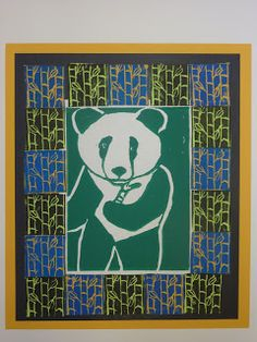 The Calvert Canvas: Adventures in Middle School Art!: Flora and Fauna Printmaking