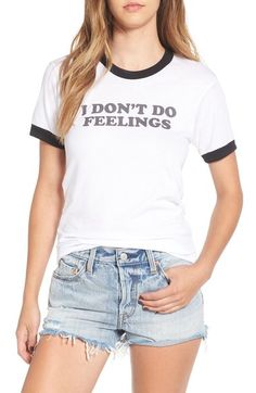 Kid Dangerous 'I Don't Do Feelings' Graphic Tee available at #Nordstrom
