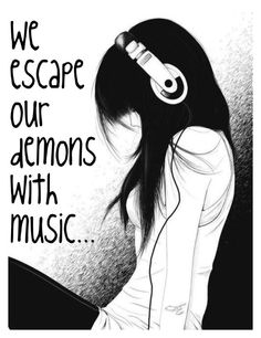 """Escape With Music"" by dieselgirl102 on Polyvore featuring art"