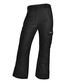 Arctix Women's Cargo Snow Pants, Small, Black Arctix