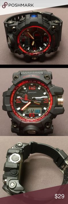 New military STYLE WATCH New with tags, includes instructions Accessories Watches