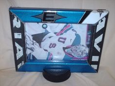 Your place to buy and sell all things handmade Hockey Puck, Hockey Players, Sports Decor, Team Pictures, Auntie, Picture Show, Custom Framing, Picture Frames, Cool Stuff