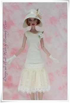 1920's One Piece Dress Set Outfit Clothes for Deja Vu Heavenly Marie | eBay