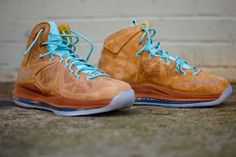 NIKE Lebron X QS EXT - Hazelnut | Sneaker | Kith NYC