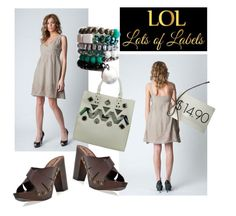 """SHOP - Lots of Labels"" by ladymargaret ❤ liked on Polyvore"