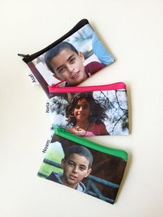 Custom Photo wallet gift idea  personalized coin purse by efratul, $19.00
