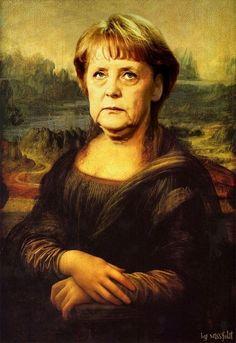 Mona 'Angela Merkel' Lisa