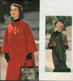 Coats & purses. :)