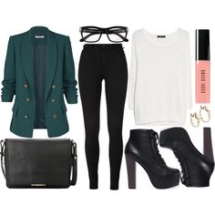 street style by sisaez on Polyvore featuring MANGO, Tom Ford and Bobbi Brown Cosmetics