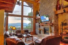 Great place to watch the ballgame in our 7 bedroom cabin, 4188 at Hidden Mountain Resorts