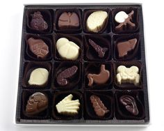 Tina Pavlatos Created a Box of Anatomical Treats #chocolate trendhunter.com