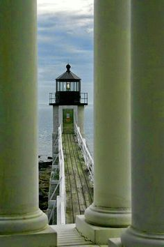 Marshall Point Light Station, Port Clyde Harbor, Port Clyde, Maine It's one on our Haunted Maine Lighthouse Tour! The Places Youll Go, Places To Go, Maine Lighthouses, Point Light, Beacon Of Light, Coastal Living, Cape Cod, New England, Beautiful Places