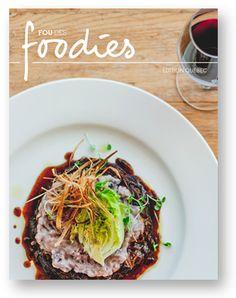 Fou des foodies - ebook gratuit de blogueur web de Québec. Découvrez Québec, 17 blogueurs gourmands et nos recettes préférées