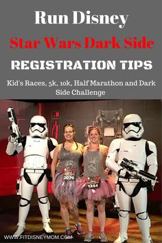 Join the Star Wars Dark Side and run Disney! All of the registration tips you need to register for the Darkside Half Marathon Weekend at Walt Disney World.