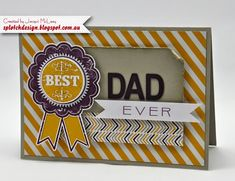 Splotch Design - Independent Stampin' Up! Demonstrator: Fathers Day Cards