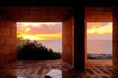 Can Lis, casa construida por el arquitecto danés Jorn Utzon en Mallorca.
