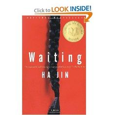What I am currently listening to while logging miles on the treadmill at the gym: Waiting by Ha Jin.